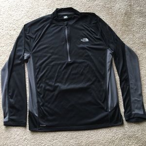 The North Face L base layer / cycling jersey